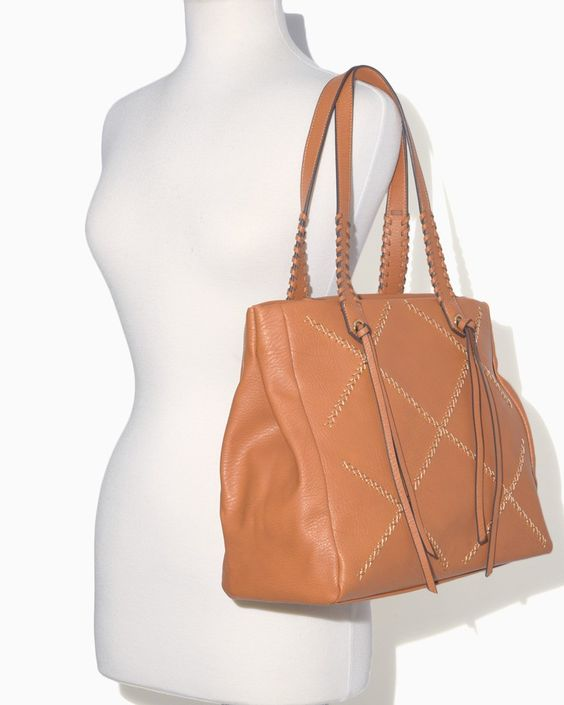 Whipstitched Square Tote | Charming Charlie