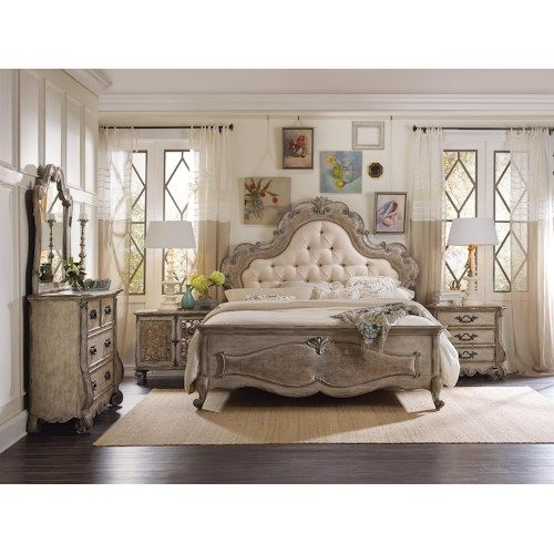 Hooker Furniture Chatelet Queen Bedroom Group