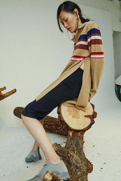 Blue Wool Midi Skirt #genuinepeople #genuine-people #skirt #midiskirt #woolskirt #blueskirt #outfit #streetstyle #beautifulstyle