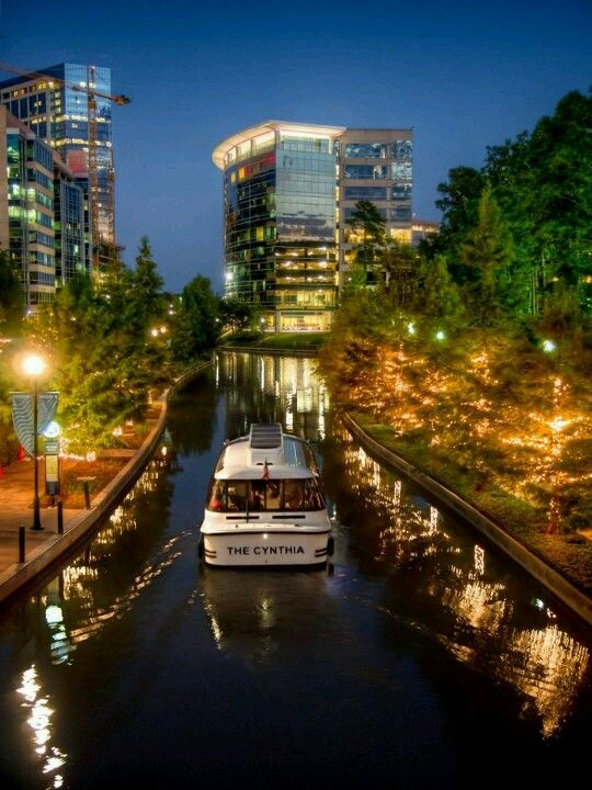Woodlands Waterway, Houston Texas area. There's so much to do in the Woodlands...whether its a day trip or a Saturday overnight with a concert thrown in. Great spraygrounds, nature trails and lots of shopping and dining!