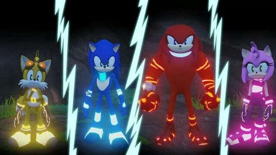Pre order sonic boom rise of the lyricsat Amazon and receive a code to unlock luminous costumes for sonic tails knuckles and amy