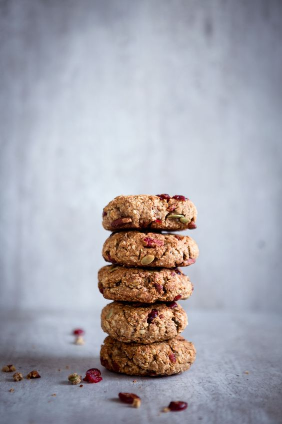 Autumn Breakfast Cookies:
