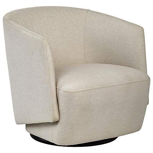 Rivet Coen Contemporary Fabric Accent Swivel Chair 30 Swivel Chair Modern Swivel Chair Chair
