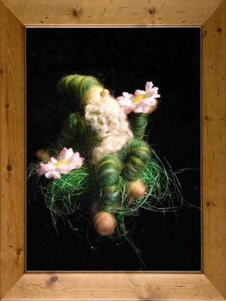 Gänseblümchenzwerg,waldorfart von Sandras Wunderland auf DaWanda.com