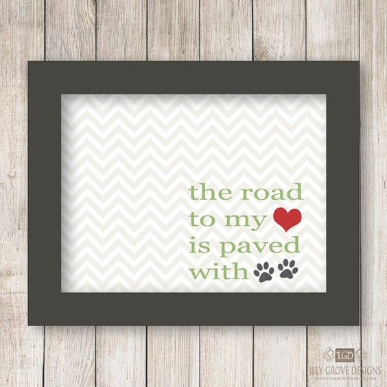 Road to My Heart Chevron 2 Wall Art - INSTANT DOWNLOAD - Digital File - Print Your Own (You Print)