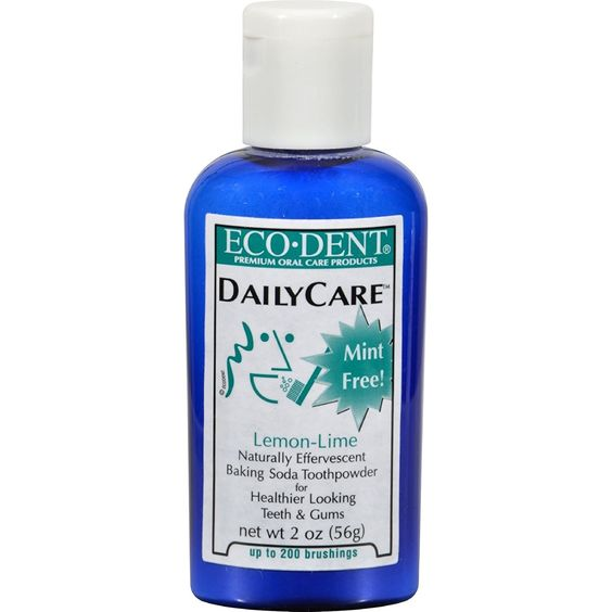 Eco-Dent Toothpowder Daily Care, Lemon Lime - 2 Oz >>> Click on the image for additional details.