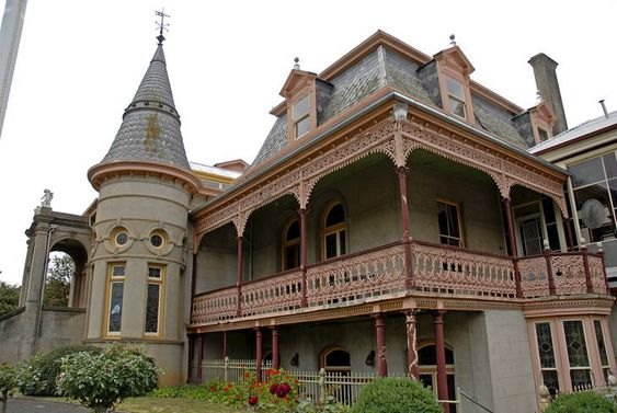 It was the biggest house in Australia, an opulent 19th century mansion eccentrically decorated by a man with unbridled wealth and questionable taste.