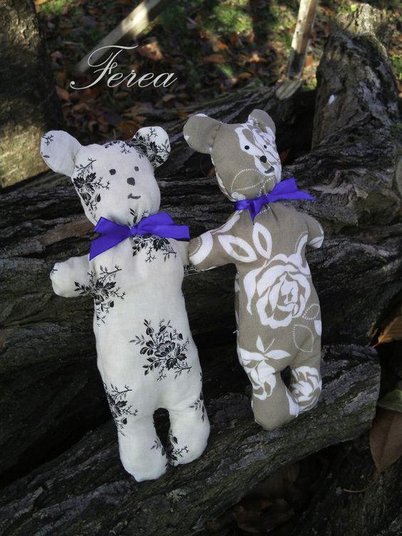 Tildas teddy bear by Ferea