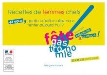 Recettes de femmes Chefs 2015   en vente à 7 euros