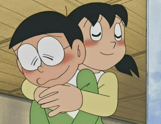 Nobita And Shizuka Wallpaper Doraemon Cartoon Cute Love Cartoons Doraemon