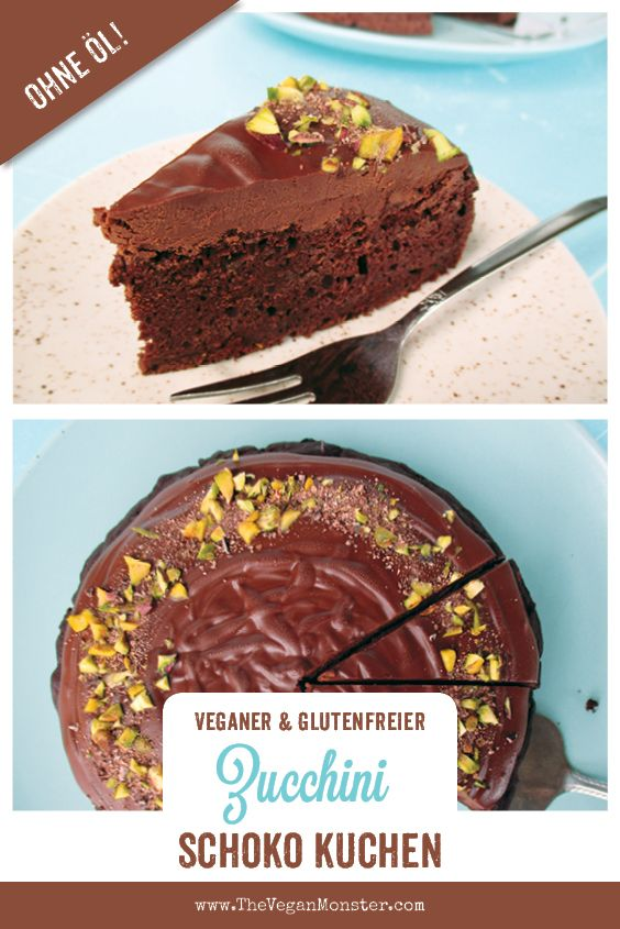Zucchini Schoko Kuchen Vegan Glutenfrei Ohne Ol Das Vegan Monster Zuckerfrei Backen Veganer Schokokuchen Glutenfreier Kuchen