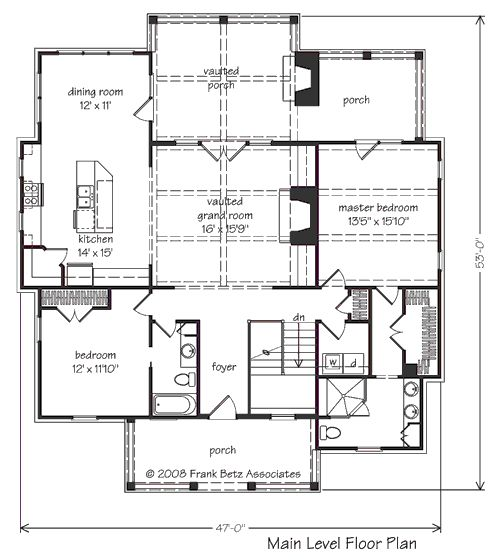 Boulder summit home plans and house plans by frank betz for Frank betz house plans