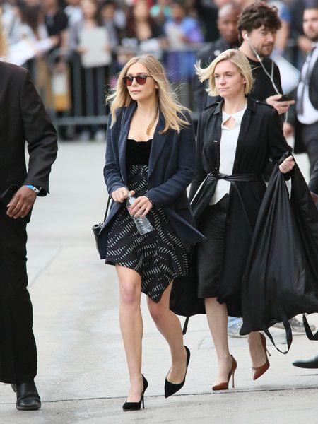 Elizabeth Olsen Photos - Elizabeth Olsen at 'Jimmy Kimmel Live' - Zimbio