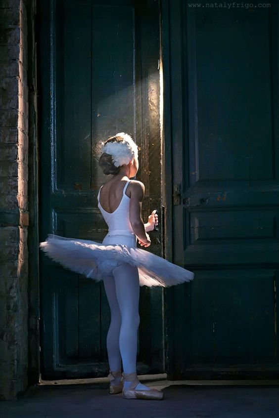 Little ballerina.: