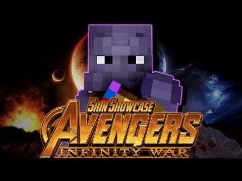 Avengers Infinity War Minecraft Skin Pack Release Download