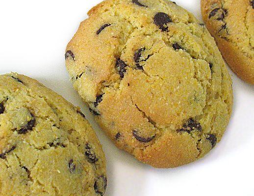 Biscottini vegan, senza glutine e con farina di mais