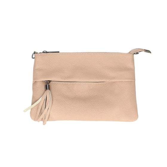 Obc Made In Italy Damen Echt Leder Clutch Tasche Handtasche Tr131 Altrosa In 2020 Handtasche Umhangetasche Clutch Tasche Schultertasche