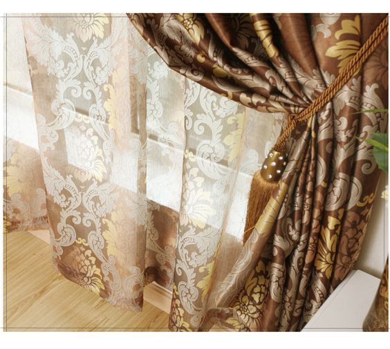 Cheap curtain silk fabric, Buy Quality curtain size directly from ...