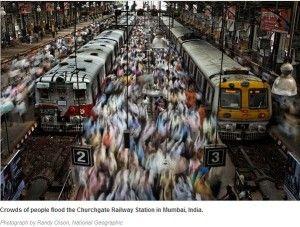 Churchgate Railway station Mumbai