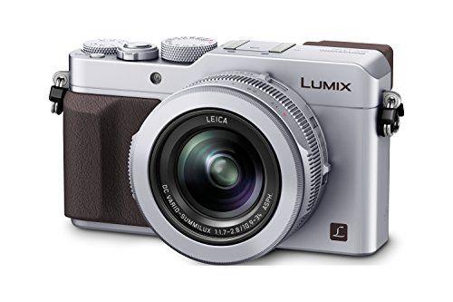 Panasonic DMC-LX100EGS Lumix Premium Digitalkamera (12,8 Megapixel, Four Thirds MOS Sensor, elektronischer Live View Sucher, 4K Ultra HD Aufnahme mit 25p, 24-75 mm Leica DC Vario-Summilux Objektiv, Belichtungskorrektur, Blitzschuh, WiFi, NFC) silber | Your #1 Source for Camera, Photo & Video