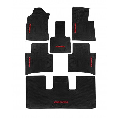 Autostorm Car Rubber Floor Mats For Toyota Innova Crysta Toyota Innova Rubber Floor Mats Must Have Car Accessories