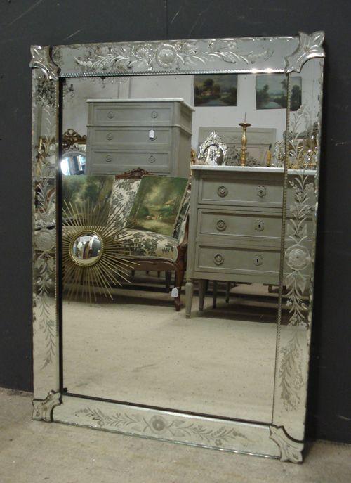 Vintage Venetian mirror circa 1950 from www.jasperjacks.com