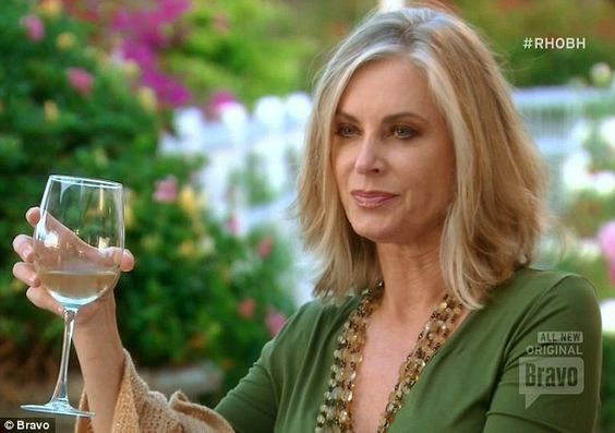 Concerned friend: Eileen Davidson tried to get Kim and Kyle to reconcile...