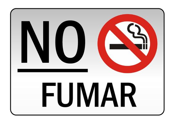 No Fumar. 31 de mayo. Día mundial sin tabaco.
