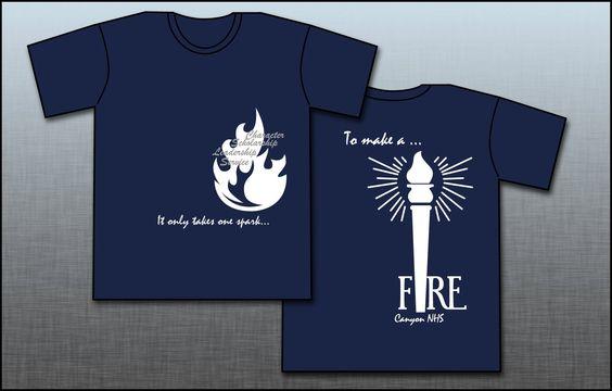 Canyon National Honor Society shirts!
