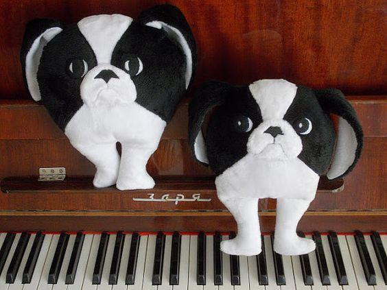 Japanese chin children's toy plush toy stuffed by PillowsRollanda