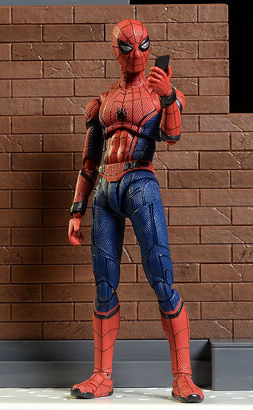 Spider Man Homecoming Spiderman SHF S.H.Figuarts Action Figures Figurine Model