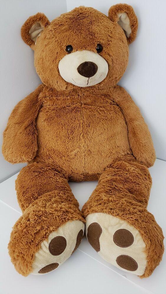 Toys R Us Jumbo Extra Large Brown 2014 Plush 43 Stuffed Animal Teddy Bear Toysrus Teddy Bear Stuffed Animal Jumbo Teddy Bear Teddy Bear