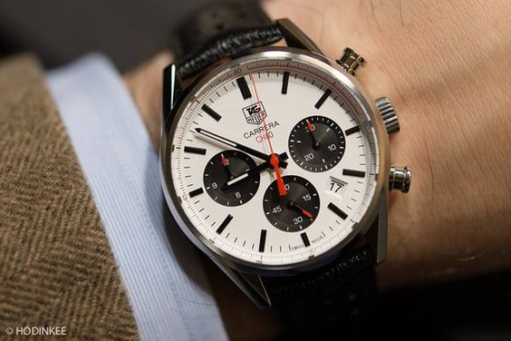 Introducing The TAG Heuer Carrera CH80, TAG's New In-House Chronograph Movement…