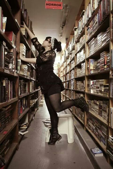 The Generalist - Librarian shoot