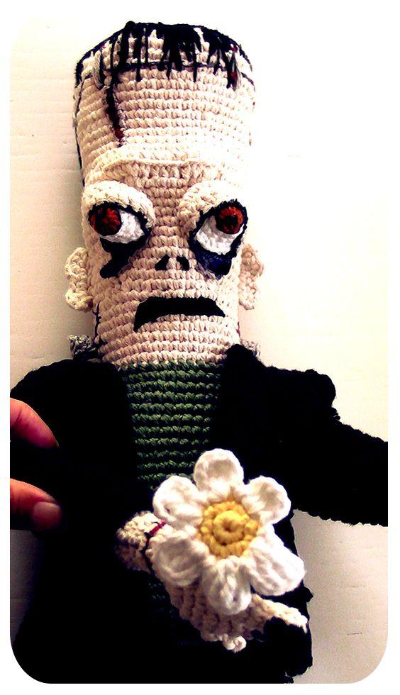 crochet amigurumi Frankenstein by Yo-y MisKosas