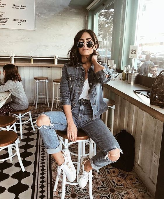 This edgy fall street style look is the best of 2018!