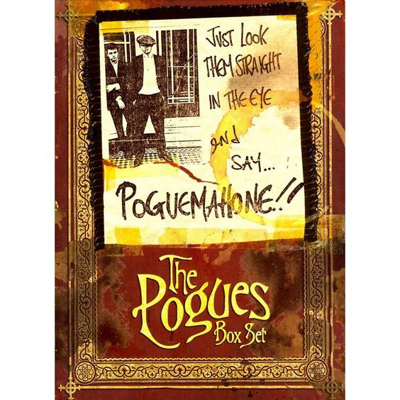 The Pogues - Just Look Them Straight in the Eye and Say...Pogue Mahone (Box Set) (CD)