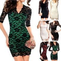 Fashion Women Sexy Long Sleeve Evening Party Cocktail Lace Mini Dress Clubwear $7.36 to $7.99 Buy It Now visit http://www.shopandsavedeals.net/dresses.html#.VNzNxebF9A0