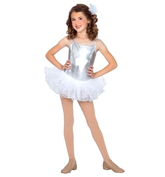 Ballet I or Susie Snowflake: Just the skirt, great for candy canes! Sequin Trim Tutu - Tutus & Skirts | DiscountDance.com