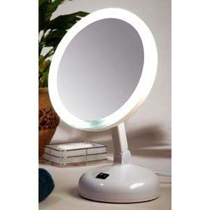 Floxite Fl-10jh 10x Incandescent Lighted Vanity Mirror, Pearl (Misc.)  http://www.amazon.com/dp/B001FRQ78Q/?tag=goandtalk-20  B001FRQ78Q