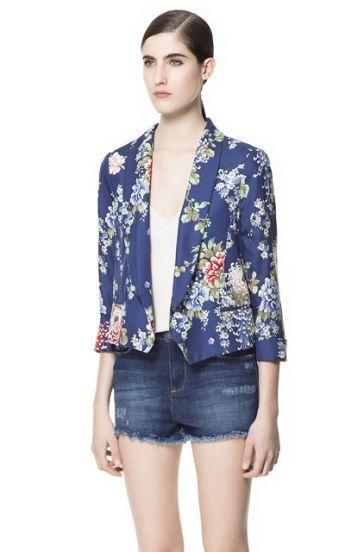 floral blazer $40