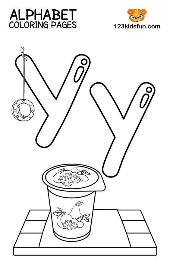 41+ Y is for yo yo coloring page free download