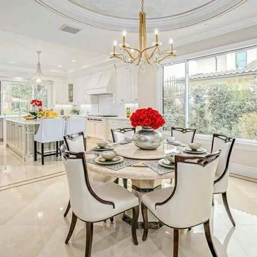 Traditional Dining Room Contemporary Luxury Dining Room Home