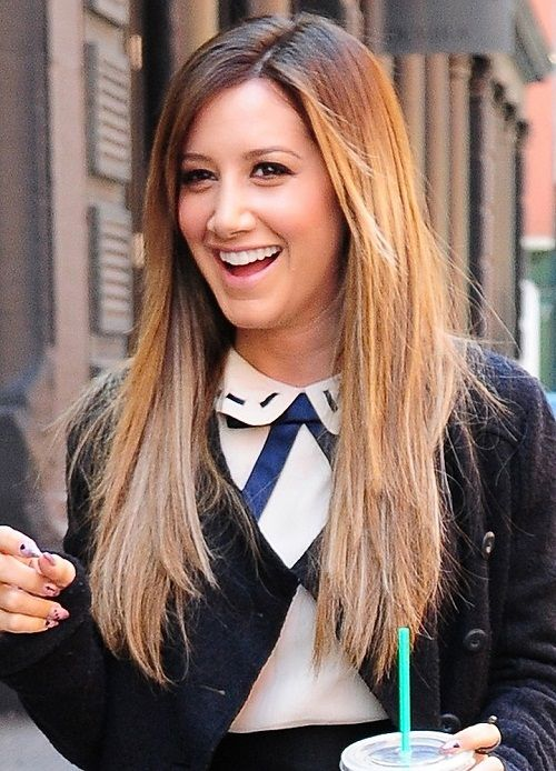 nice Ashley Tisdale Hairstyles 16 With Natural Hair Color ...