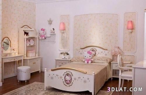 غرف نوم للبنات صور غرف نوم للبنات ديكورات غرف نوم بنات بالصور بينك جميله Girls Room Wallpaper Home Decor Room