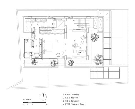 Gallery Of House No 46 Fchy Architect Lab 28 In 2020 Floor Plans House Floor Plans Architect
