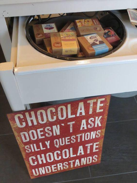 Schokolade für Genießer.....