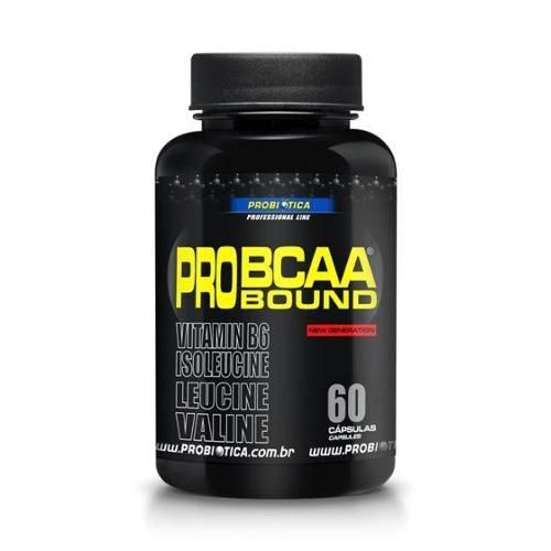 Americanas BUG - Pro BCAA Bound - 120 Cápsulas - Probiótica por R$ 38,00