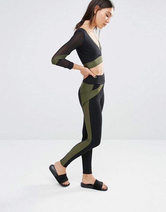 Quontum | Quontum Side Stripe Legging at ASOS