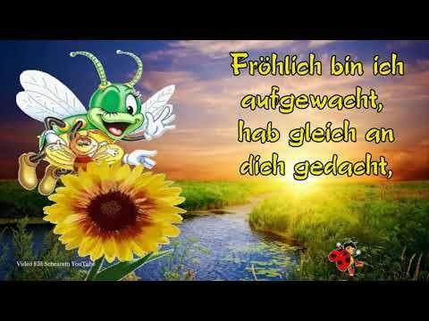 Guten Morgen Ich Wünsche Dir Einen Schönen Tag Mit Lieben